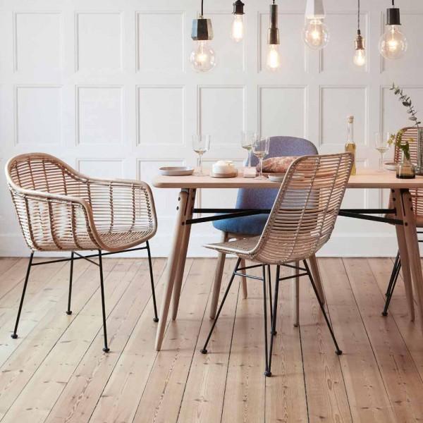 Rattanstuhl von Hübsch Interior - Dänisches Design online ...