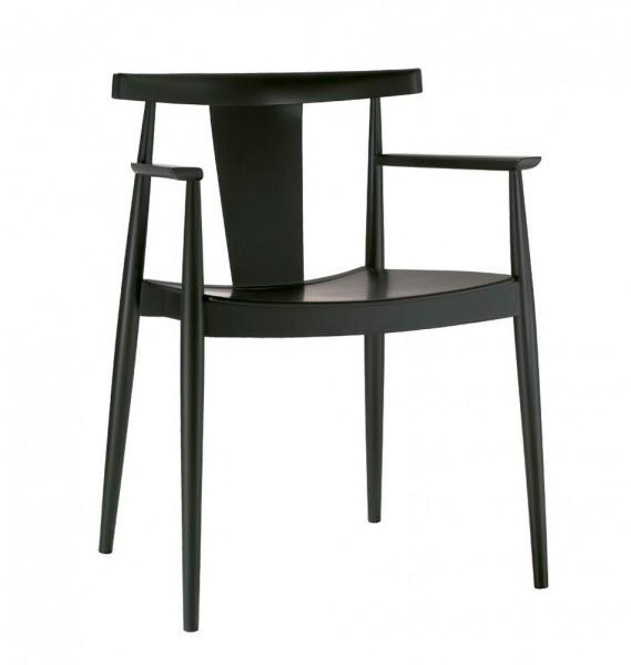 """Stuhl """"Mr. T"""" aus Holz von Andreu World"""