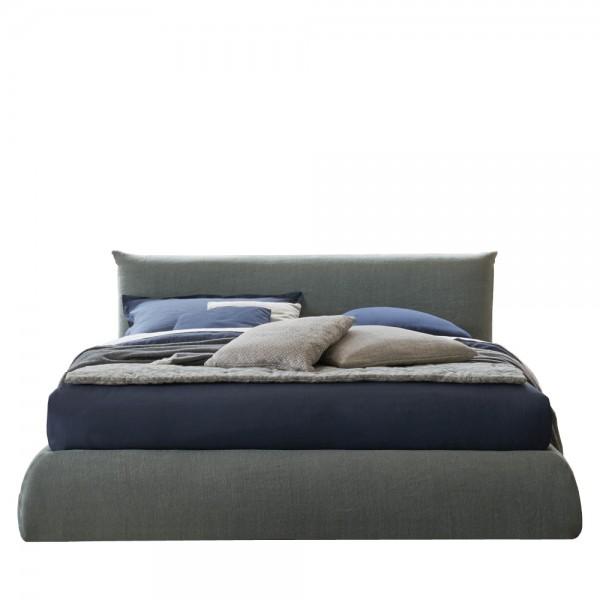 """Designer Polsterbett """"Pillow"""" mit Bettkasten"""