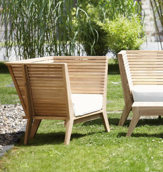 "jankurtz Gartensessel ""William"" Teak"
