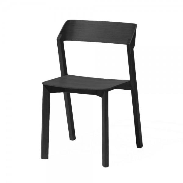 """Esszimmerstuhl """"Merano"""" aus schwarzer Eiche"""
