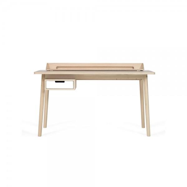 """Hartô Schreibtisch """"Honoré"""" - aus Eiche mit weißem Metall"""