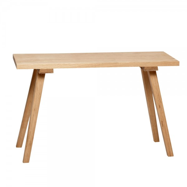 Kleine Sitzbank aus Holz - Hübsch interior