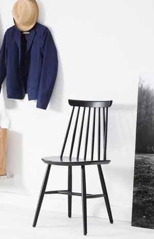 Schwarze Holzstühle | Stühle | Top Kategorien | milanari.com