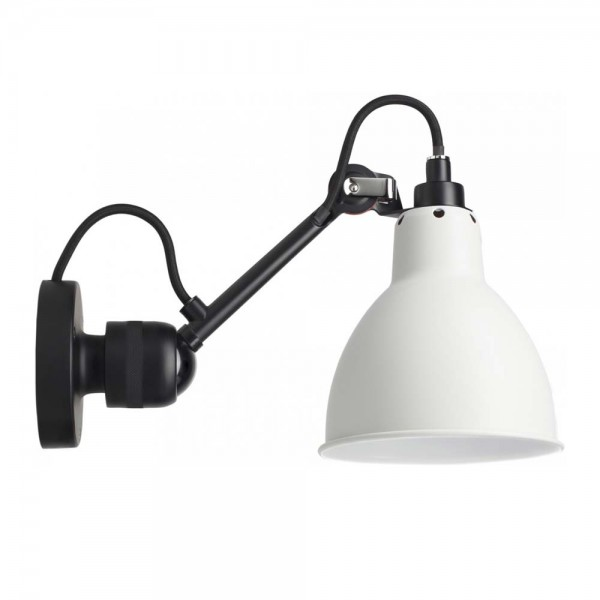"""Industrielampe """"N°304"""" von DCW LAMPE GRAS in Weiß"""