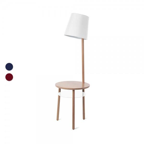 """Hartô Beistelltisch """"Josette"""" mit Lampe - für Leseratten"""