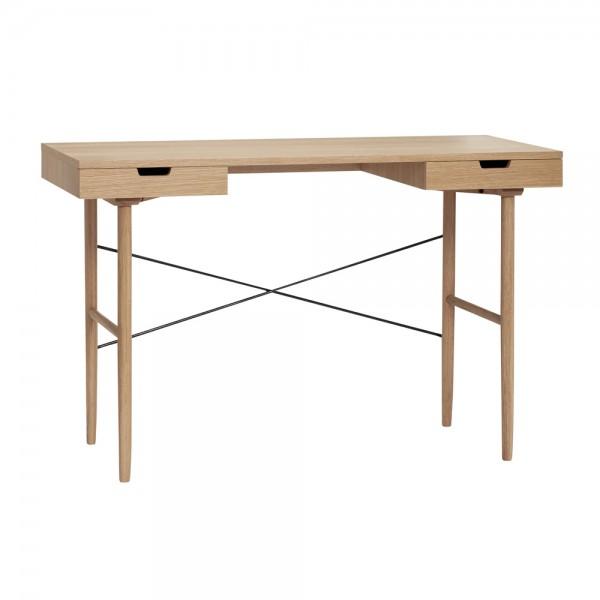 """Schmaler Schreibtisch """"Laris"""" von Hübsch interior"""