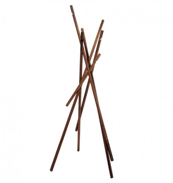 """schönbuch Garderobenständer """"Sticks"""" Nuss"""