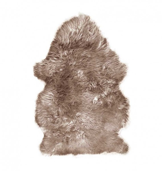 """Lammfell """"Cosy"""" taupe"""