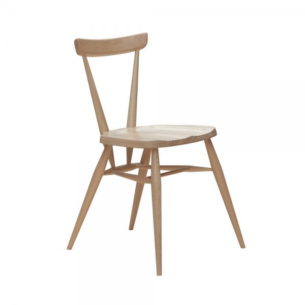 """Esszimmerstuhl """"Stacking Chair"""" von ercol - aus hochwertiger Buche"""
