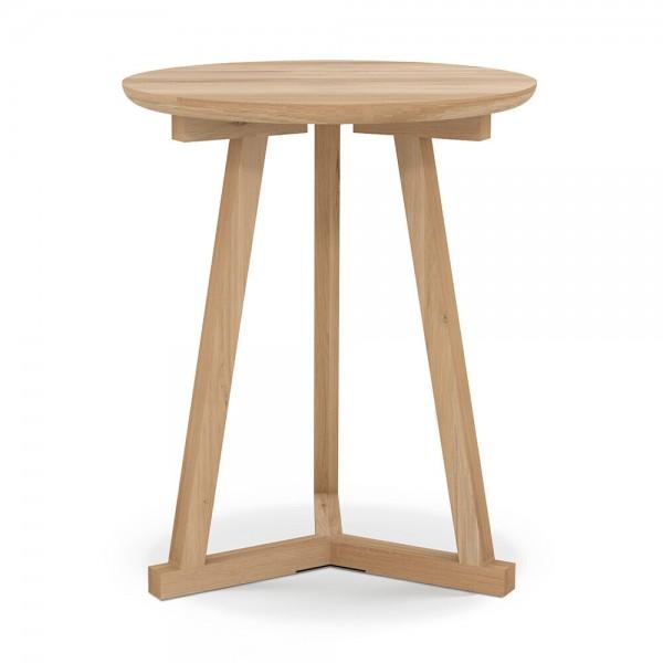 """Beistelltisch """"Tripod"""" von Ethnicraft - kleiner Holztisch aus Eiche"""