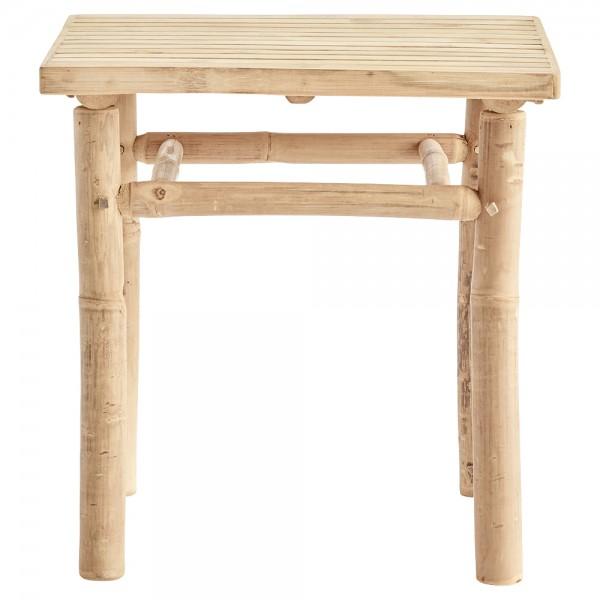 """Kleiner Beistelltisch """"Bamboo"""" aus Bambus"""