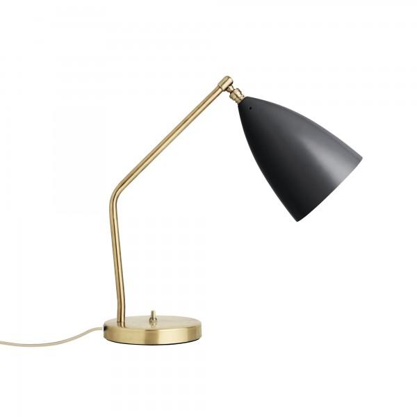 Schwarze Lampe Gräshoppa von Greta Grossman