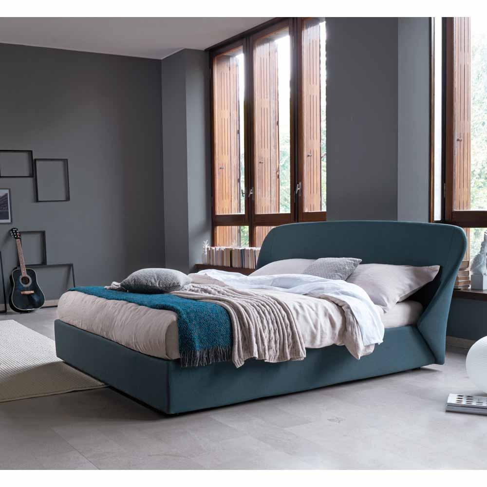 designerbett in petrol online bei. Black Bedroom Furniture Sets. Home Design Ideas