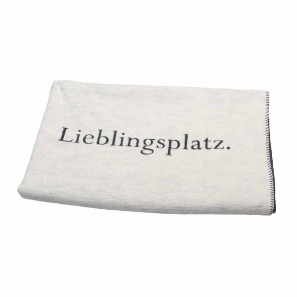 "David Fussenegger Decke ""Lieblingsplatz"""