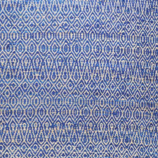 """Teppich """"Phekda"""" in Blau"""