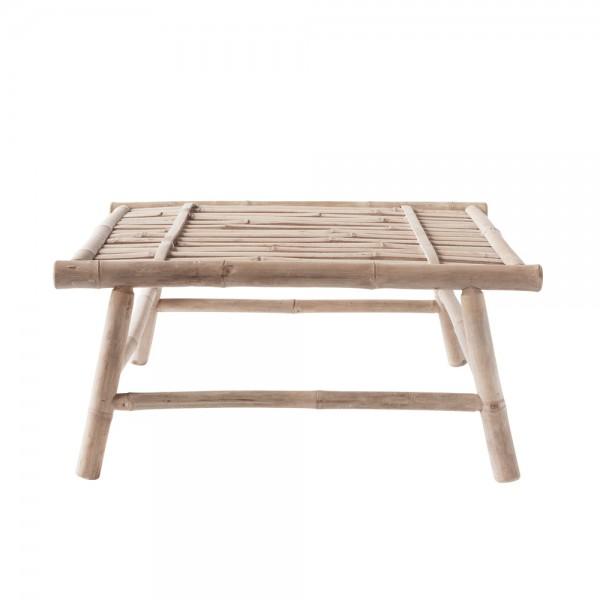 """Quadratischer Loungetisch """"Banto"""" aus Bambus"""