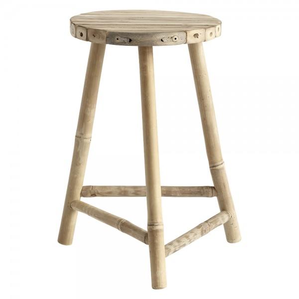 """Großer Hocker """"Banto"""" aus Bambus"""
