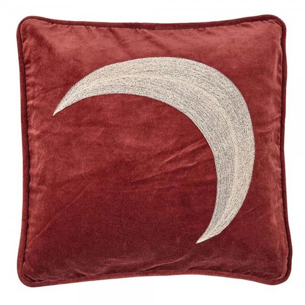 """liv interior Samtkissen """"Lune"""" in Rot"""