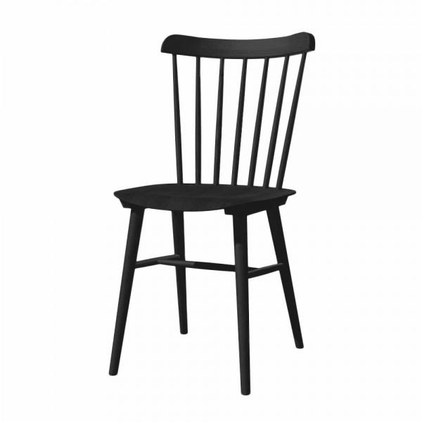 """Sprossenstuhl """"Ironica"""" von TON aus schwarzer Eiche"""