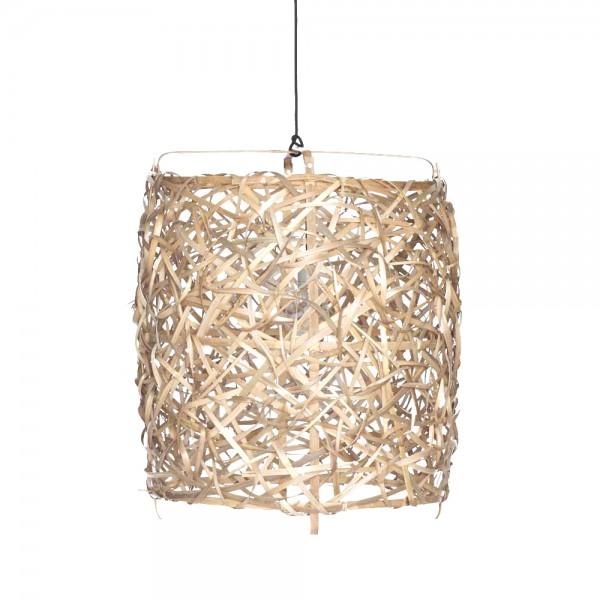 "Korblampe ""Arifa"" aus Bambus"