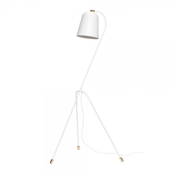 """Hübsch interior Stehlampe """"Birger"""" in Weiß"""