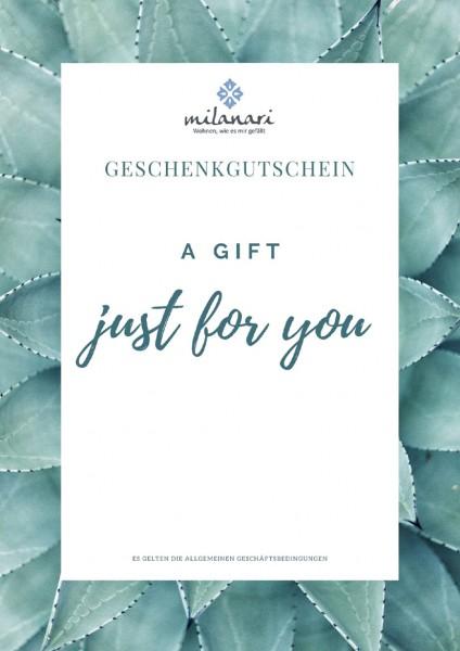 Geschenkgutschein - milanari.com