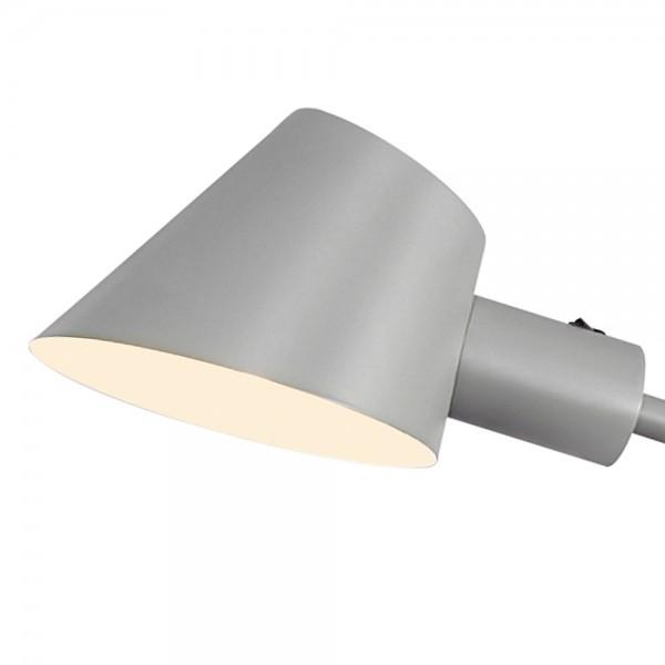 """Metall-Stehlampe """"Stan"""" in Grau"""