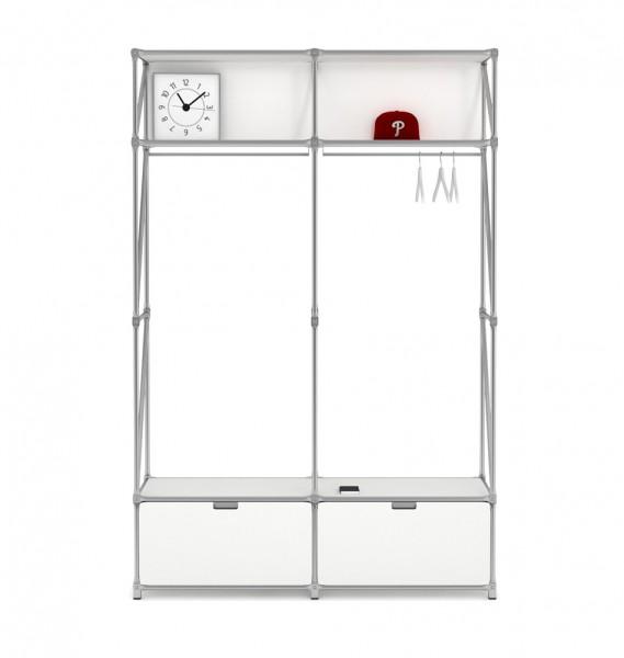 """Garderobe """"Inline"""" - leichtes Design von System 180"""