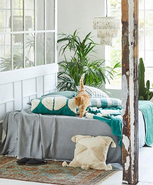 """Liv interior Jute-Teppich """"Cancun"""" Jute (grün-braun)"""