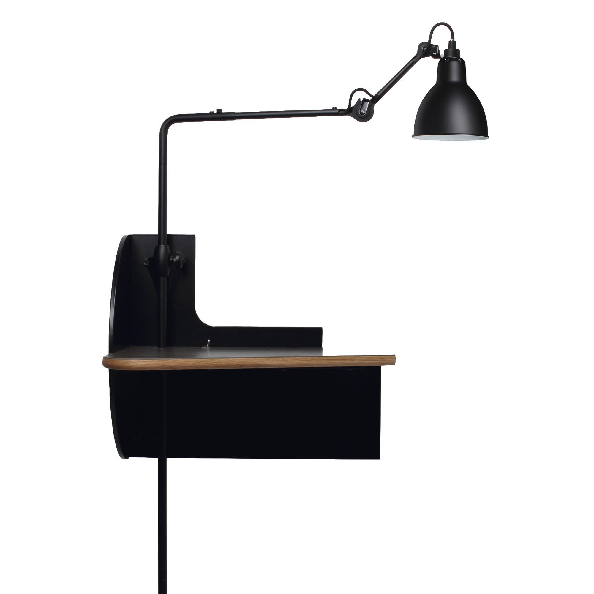 nachttisch mit lampe von lampe gras. Black Bedroom Furniture Sets. Home Design Ideas