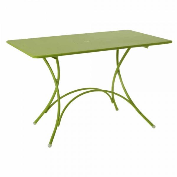 """Klapptisch """"Pigalle"""" aus Stahl - in Grün"""