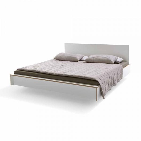 """Bett """"Flai"""" von müller möbelwerkstätten - in Weiß"""