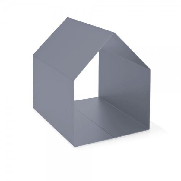 """Ablage """"Haus"""" - für Zeitschriften in Grau"""