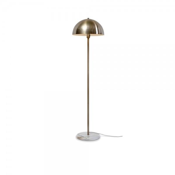 """Stehlampe """"Tousle"""" aus Eisen und Marmor"""