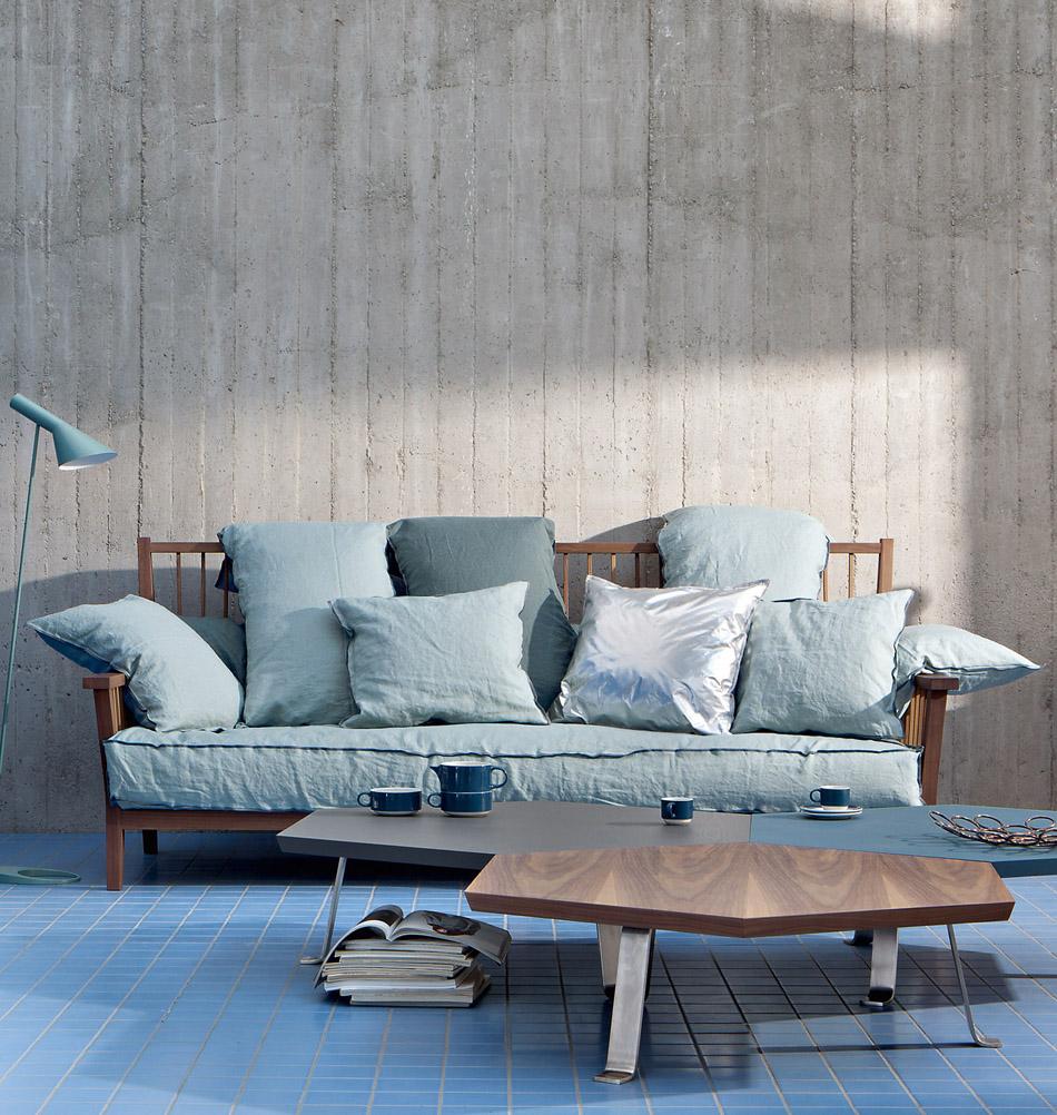 Italienische designer schlafsofas schlafzimmer set for Schlafsofa designklassiker