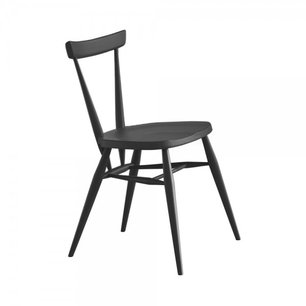 "Esszimmerstuhl ""Stacking Chair"" in Schwarz"