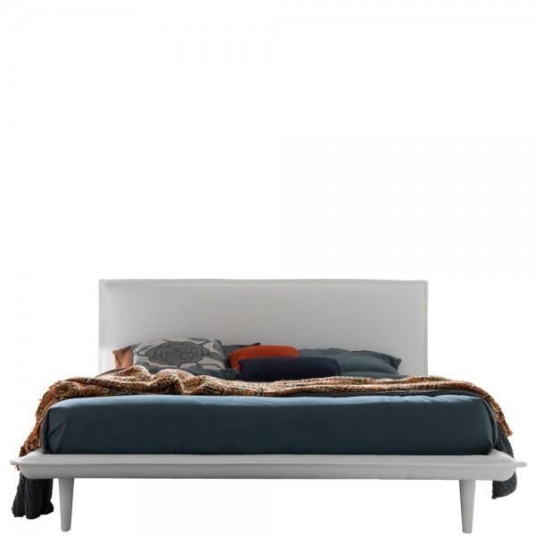 """Italienisches Designerbett """"Vittorio"""" in Weiß"""