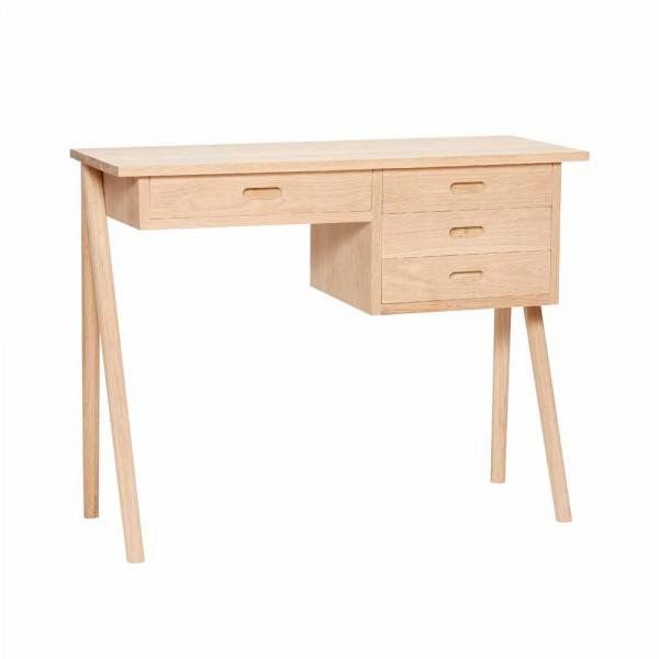 """Schreibtisch """"Saga"""" von Hübsch interior"""