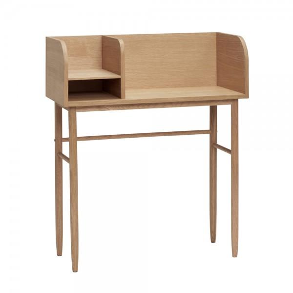 """Kleiner Schreibtisch """"Fin"""" von Hübsch interior"""