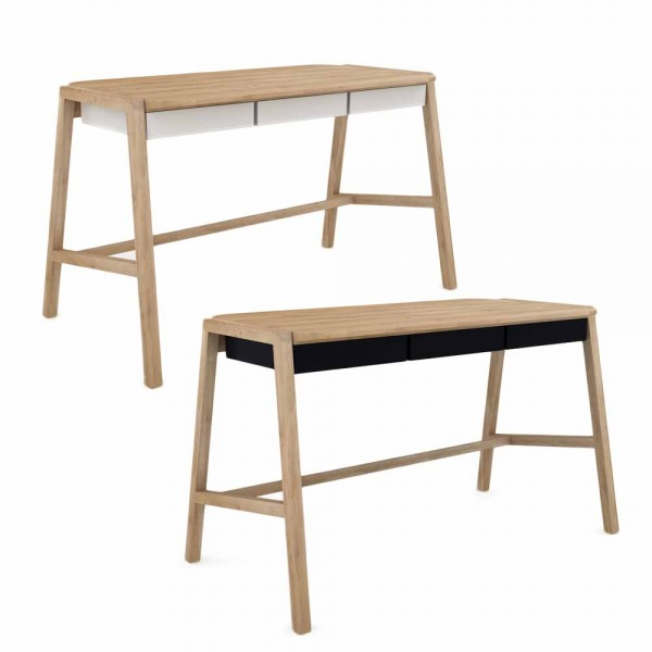 """Schreibtisch """"Holger"""" - aus Eiche"""