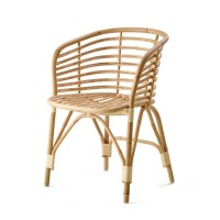 """Stuhl """"Blend"""" von Cane-line – aus Rattan natur"""