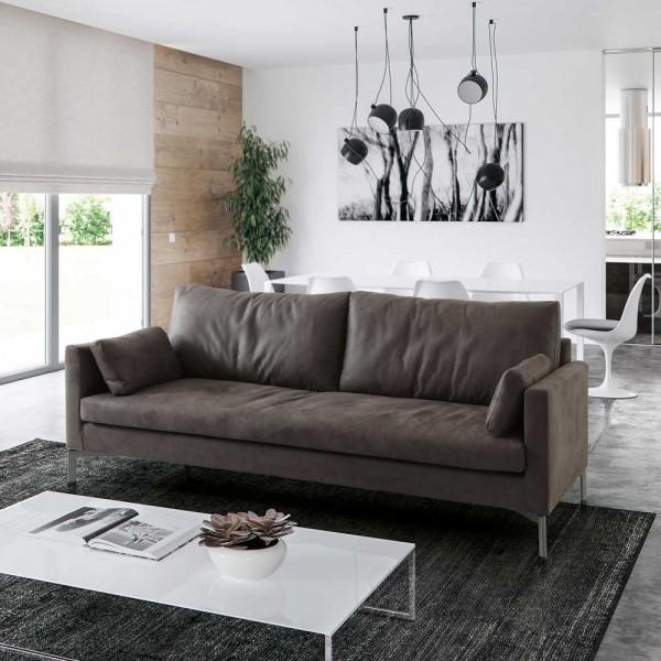 """Sofa """"Swan"""" aus Kunstleder"""