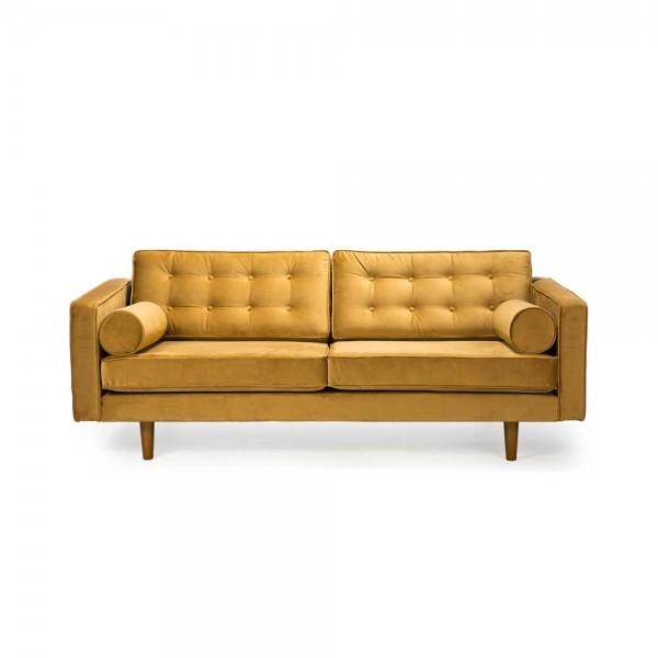 """Gelbes Sofa """"N101"""" von Ethnicraft"""