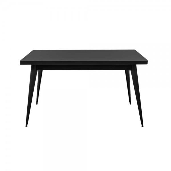"""Tolix Tisch """"Table 55"""" in Schwarz"""