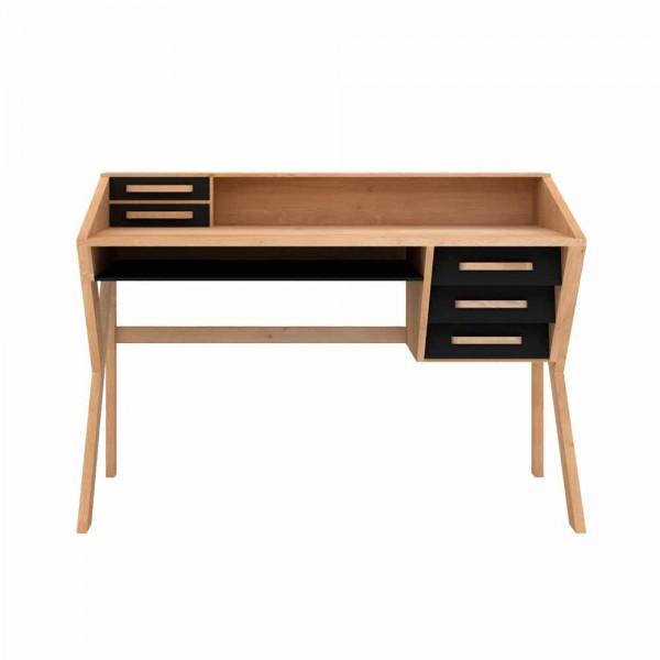 """Schreibtisch """"Origami"""" von Ethnicraft - aus massivem Eichenholz"""