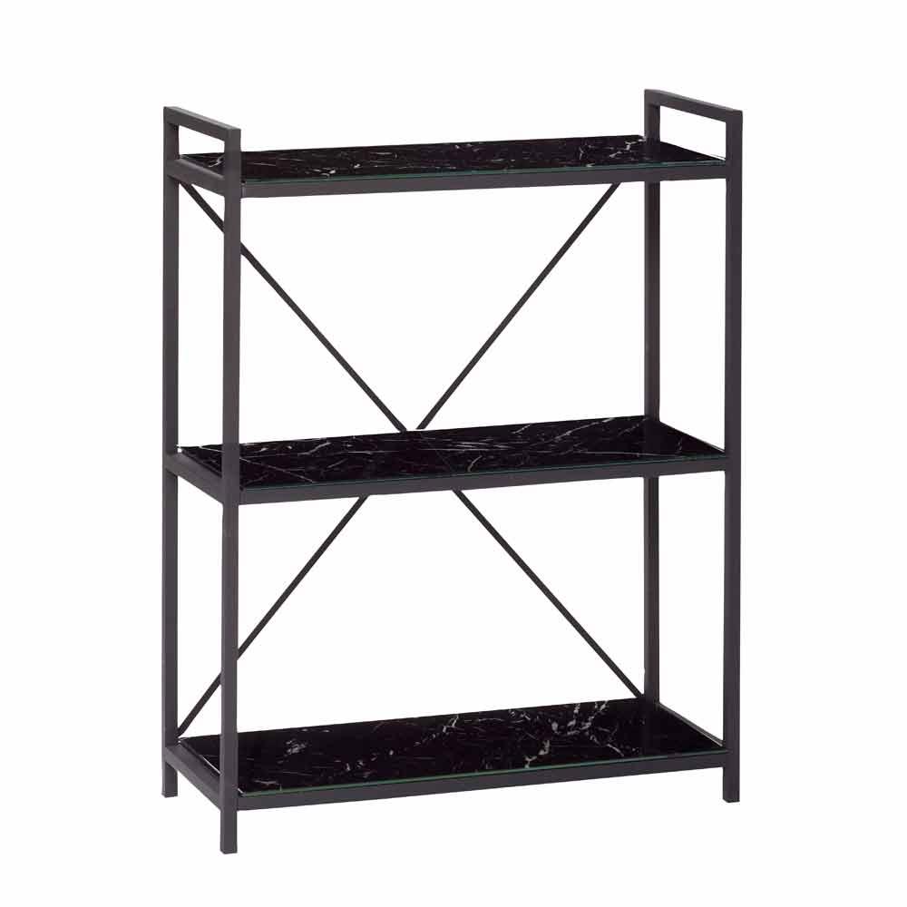 regal aus metall glas online bei. Black Bedroom Furniture Sets. Home Design Ideas