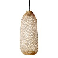 "Bloomingville Hängeleuchte ""Bamboo"" oval - aus Bambus"