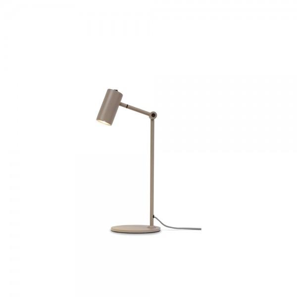 """Tischlampe """"Montero"""" aus sandfarbenem Eisen"""