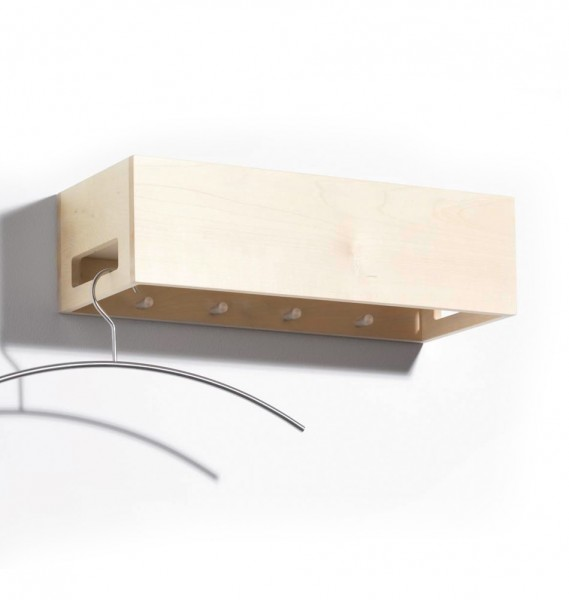 """side by side design Garderobe """"Hang & Store"""" Ahorn"""